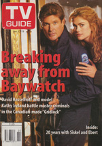 Canadian TV Guide Cover Vol 20 No 02 Issue 994 January 13 1996