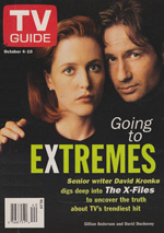 Canadian TV Guide Cover Vol 21 No 40 Issue 1084 October 4 1997