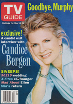 Canadian TV Guide Cover Vol 22 No 20 Issue 1116 May 16 1998