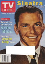 Canadian TV Guide Cover Vol 22 No 22 Issue 1119 June 6 1998