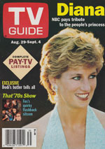Canadian TV Guide Cover Vol 22 No 35 Issue 1131 August 29 1998