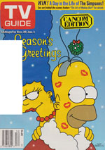 Canadian TV Guide Cover Vol 22 No 52 Issue 1148 December 26 1998
