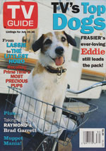 Canadian TV Guide Cover Vol 23 No 30 Issue 1178 July 24 1999
