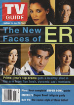 Canadian TV Guide Cover Vol 24 No 05 Issue 1205 January 29 2000
