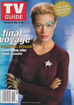Canadian TV Guide Cover Vol 25 No 20 Issue 1273 May 19 2001