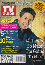 Canadian TV Guide Cover Vol 29 No 20 Issue 1481 May 14 2005