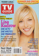 Canadian TV Guide Cover Vol 29 No 23 Issue 1484 June 4 2005