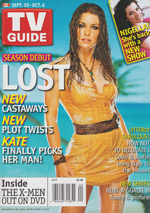 Canadian TV Guide Cover Vol 30 No 40 Issue 1552 September 30 2006