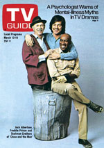 TV Guide US Cover Vol 24 No 11 Issue 1198 March 13 1976
