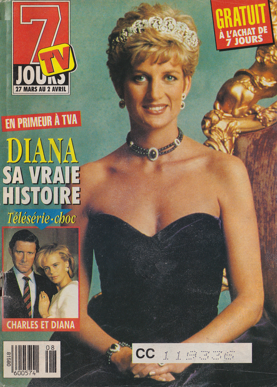 TV Guide March 27 1993 Edition Nationale Front Cover