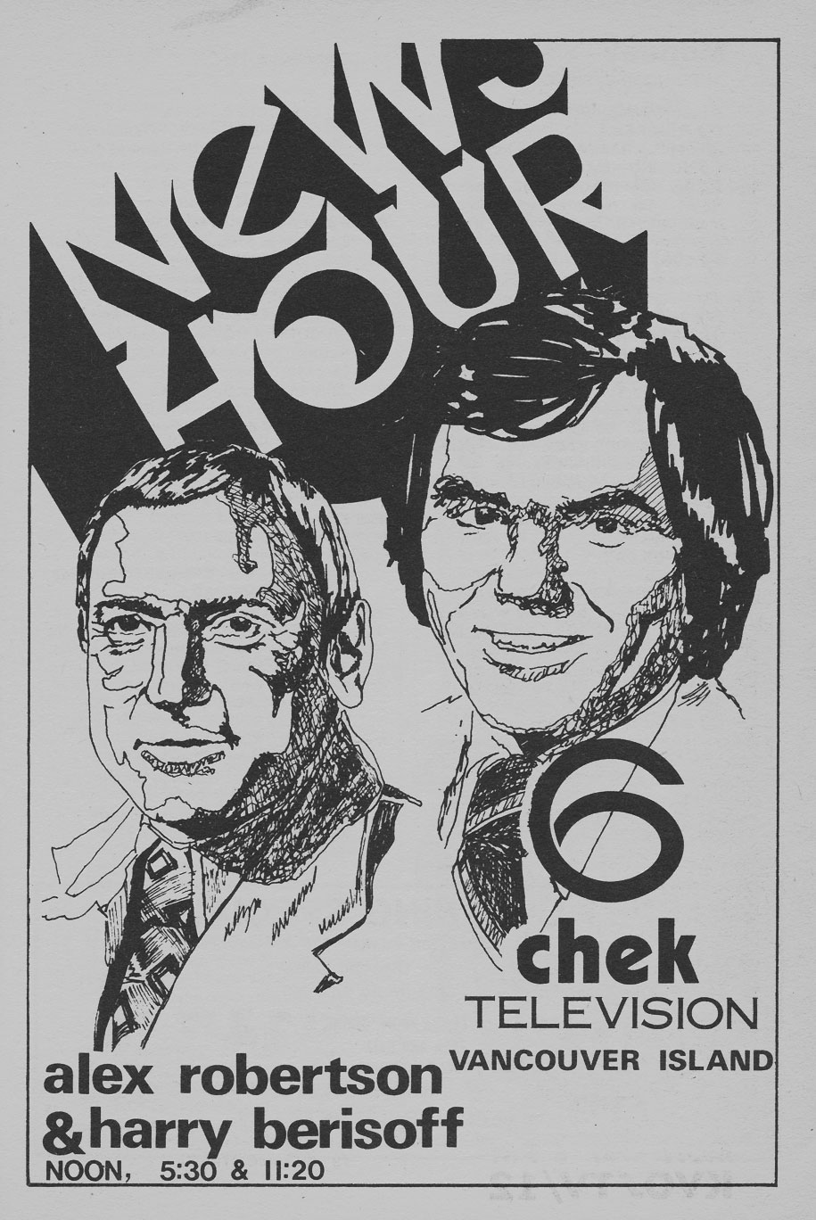 TV Guide January 1 1977 Western British Columbia Edition CHEK News Hour