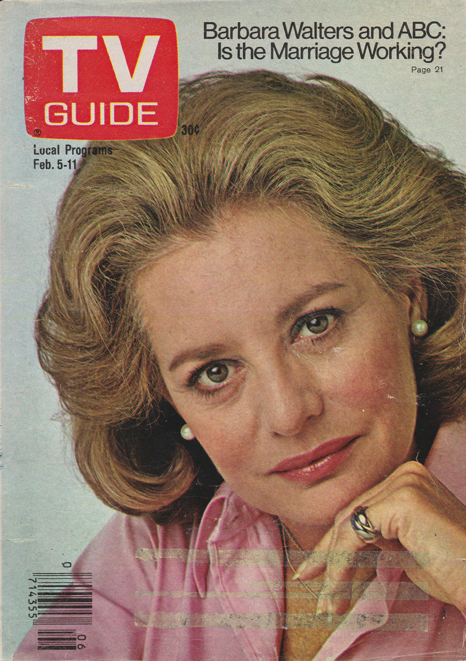 TV Guide February 5 1977 Western Ontario Edition Front Cover