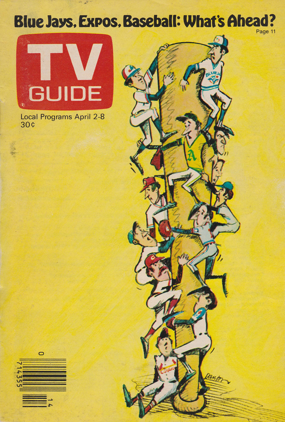 Canadian TV Guide April 2 1977