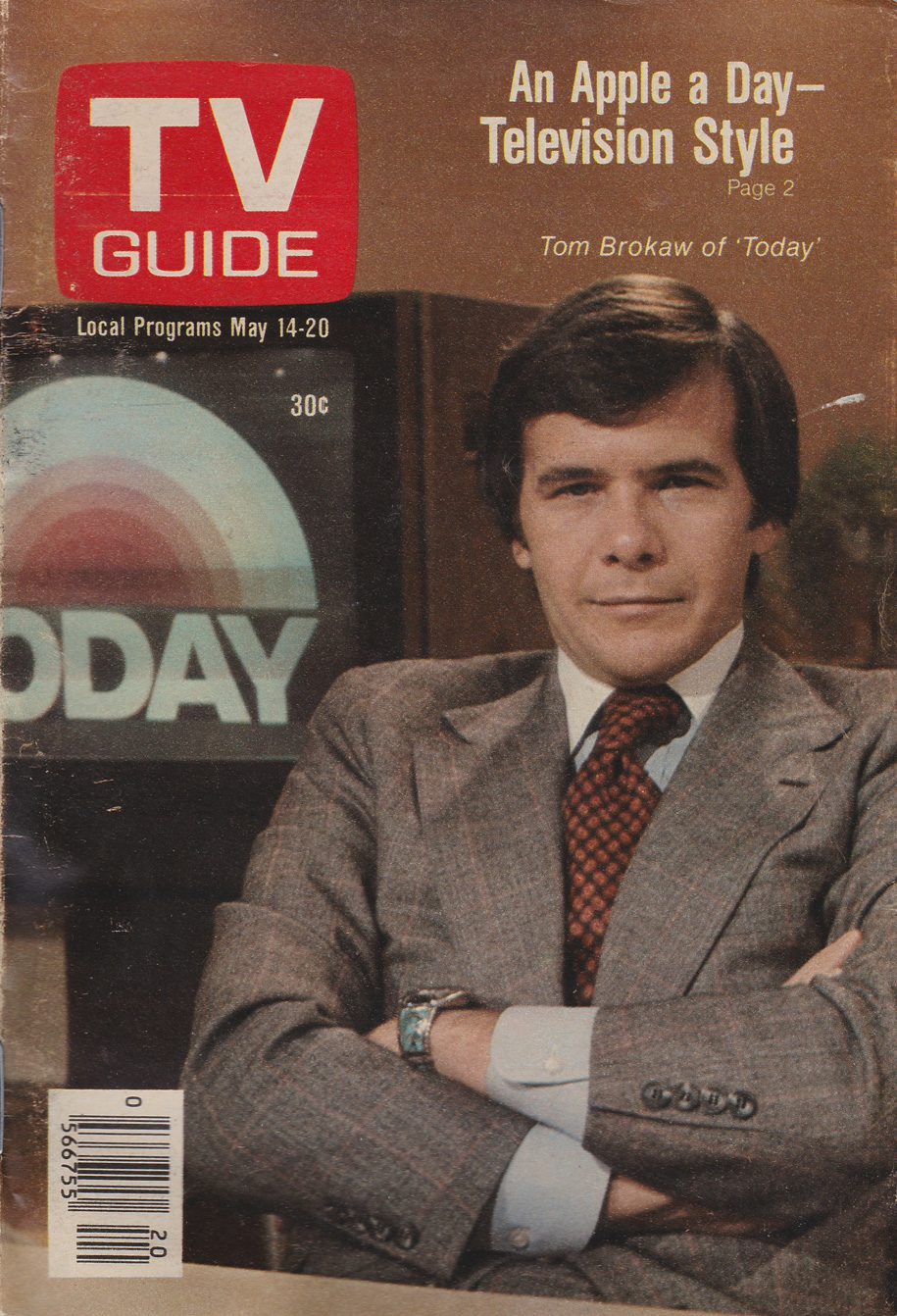 TV Guide May 14 1977 Montreal-St Lawrence Edition Front Cover