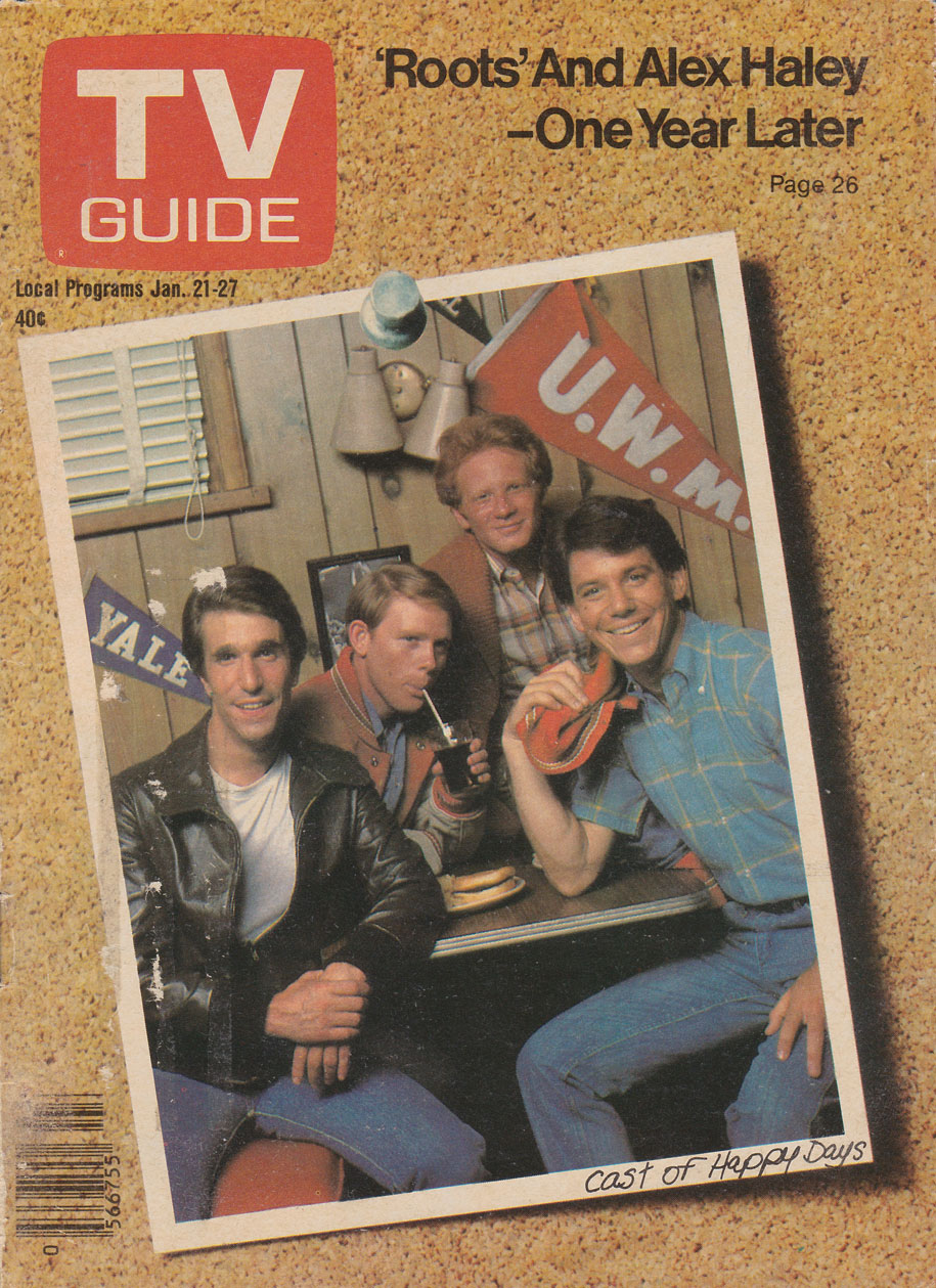 TV Guide January 21 1978 Western Ontario Edition Front Cover