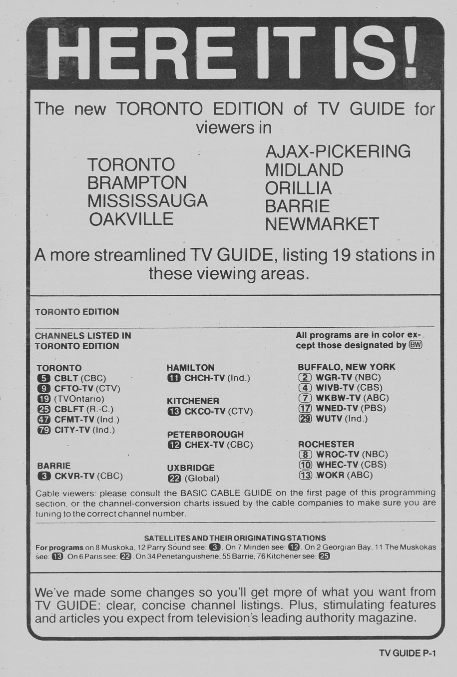 TV Guide August 23 1980 Toronto Edition The New Toronto Edition