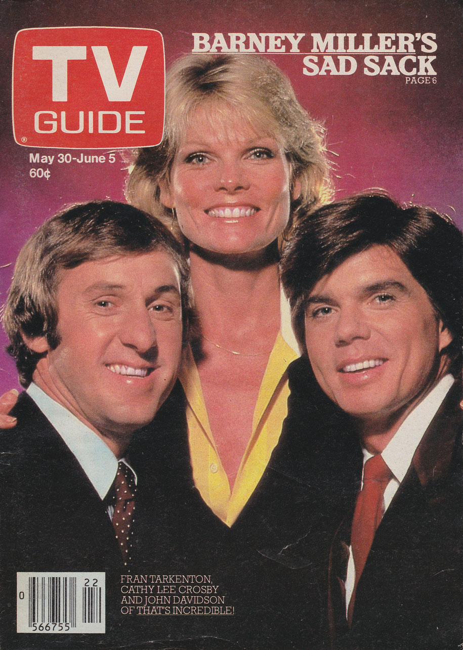 TV Guide May 30 1981 Interior British Columbia Edition Front Cover