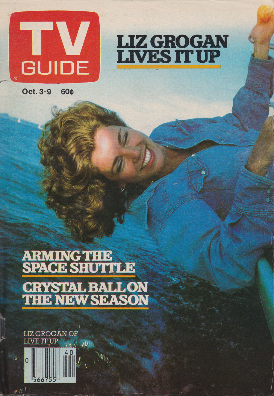 TV Guide October 3 1981 Hamilton & Region Edition Front Cover