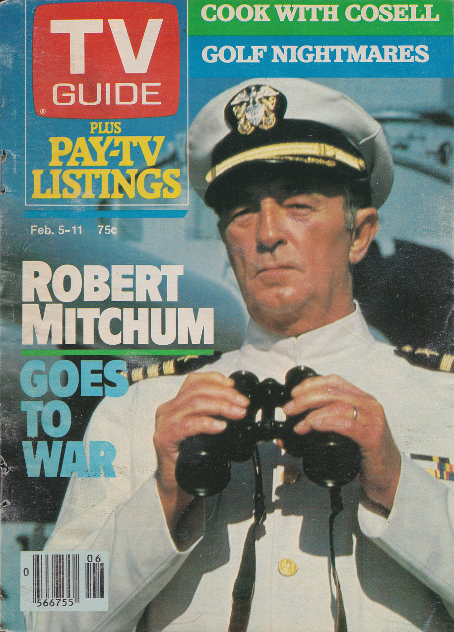 TV Guide February 5 1983 Oshawa-Peterborough Edition Front Cover