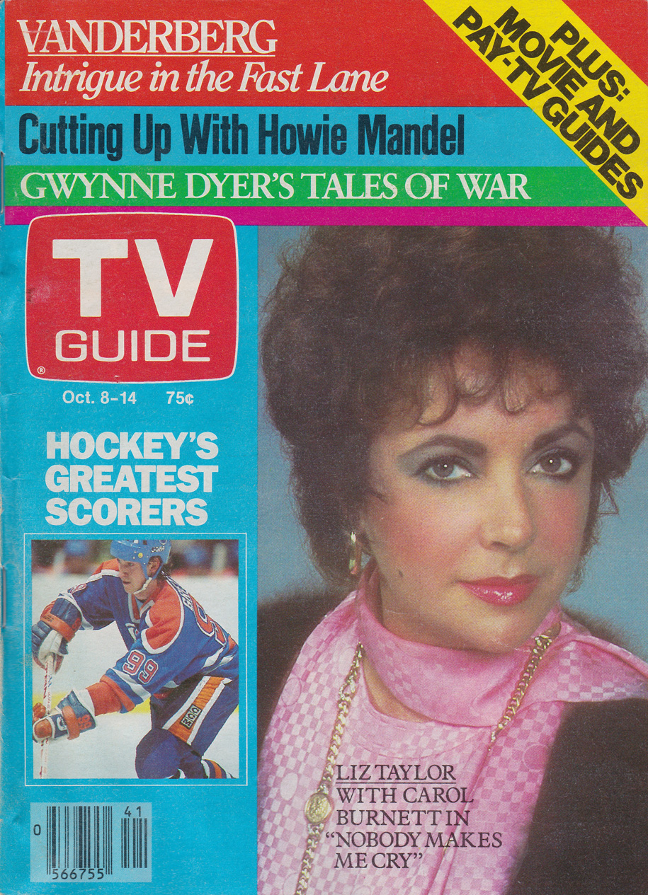 TV Guide October 8 1983 Maritime Edition Front Cover