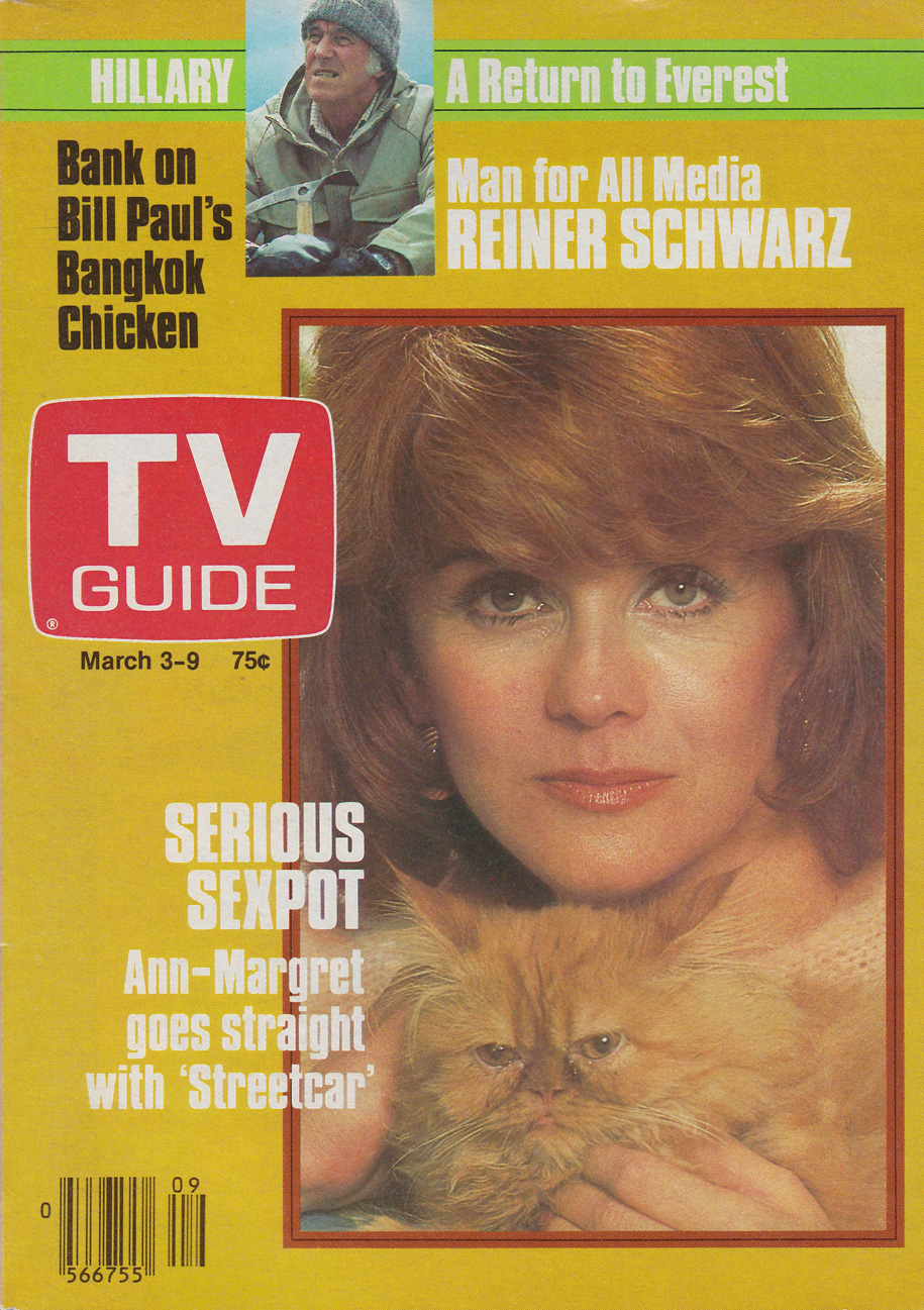 TV Guide March 3 1984 Manitoba Edition Front Cover