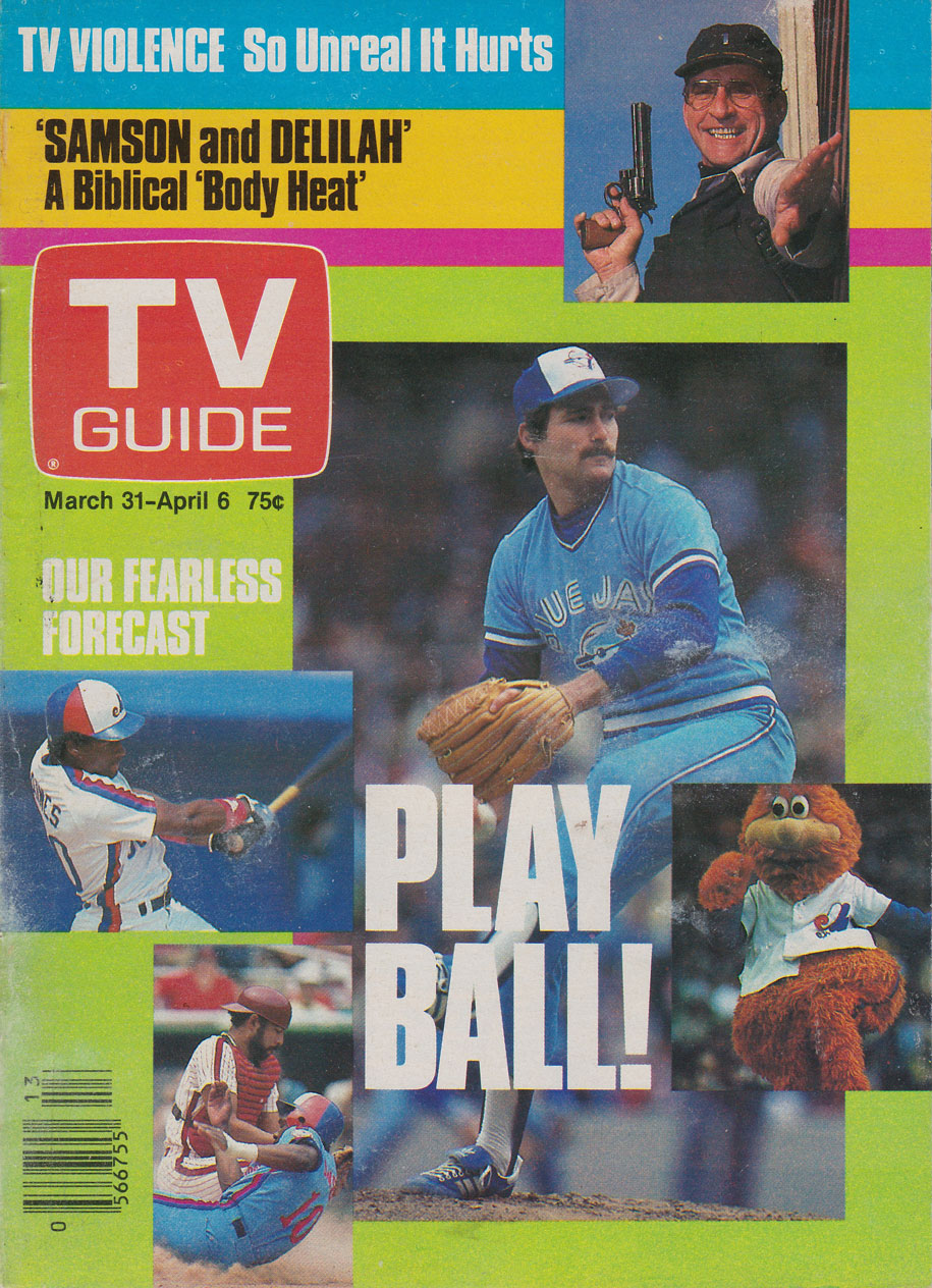 TV Guide March 31 1984 Toronto Edition Front Cover