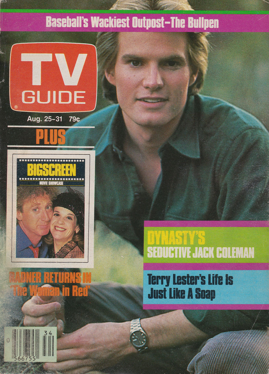 TV Guide August 25 1984 Toronto Edition Front Cover