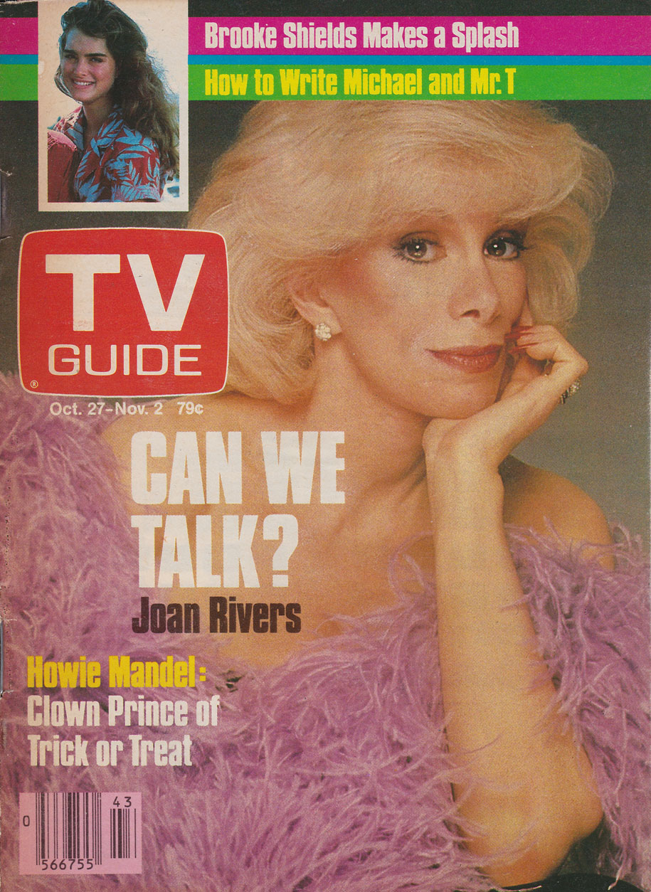 TV Guide October 27 1984 Western British Columbia Edition Front Cover