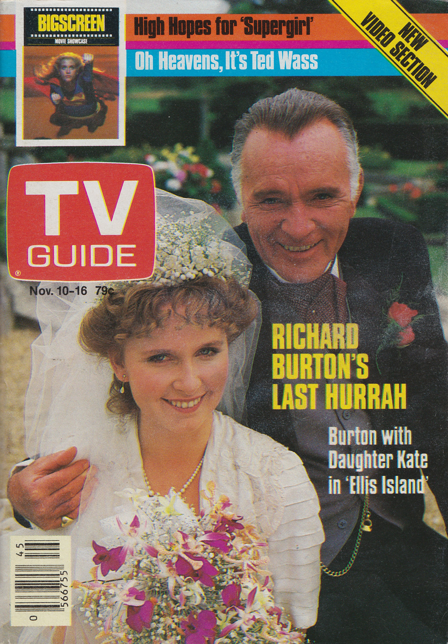 TV Guide November 10 1984 Edmonton-Northern Alberta Edition Front Cover