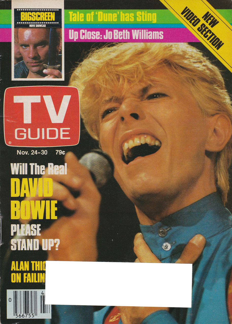 TV Guide November 24 1984 Calgary-Southern Alberta Edition Front Cover