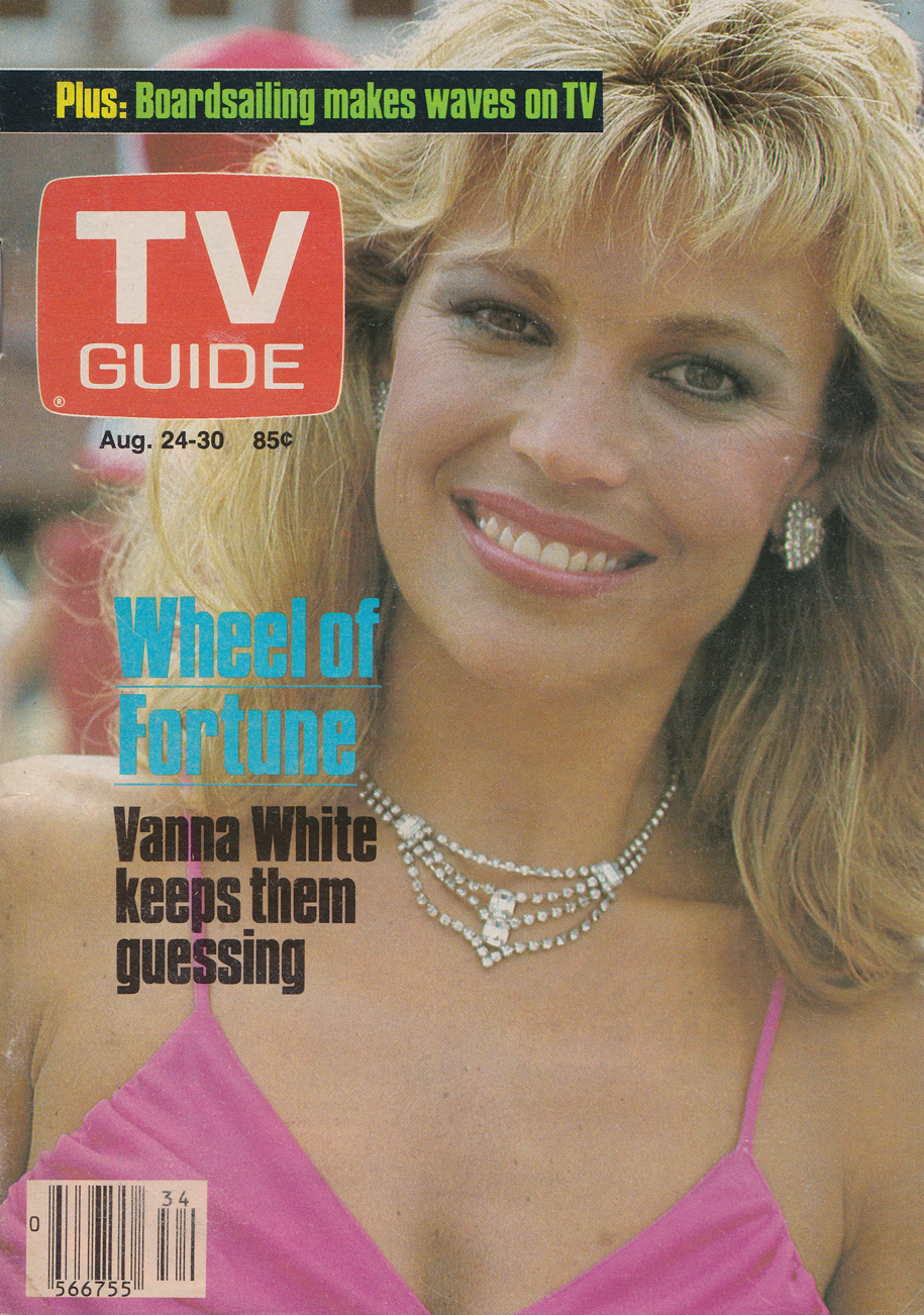 TV Guide August 24 1985 Martime Edition Front Cover