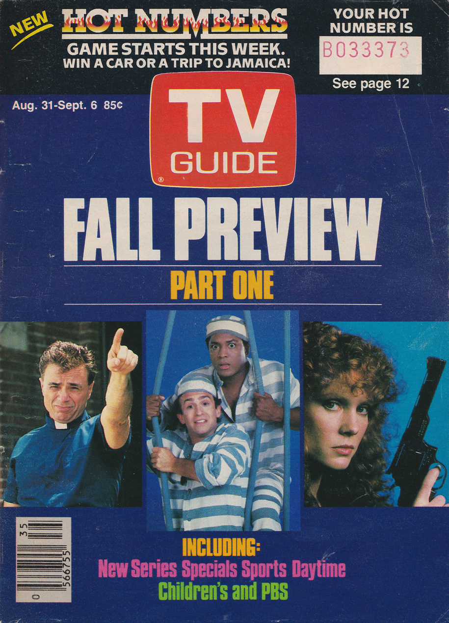 TV Guide August 31 1985 Montreal Edition Front Cover