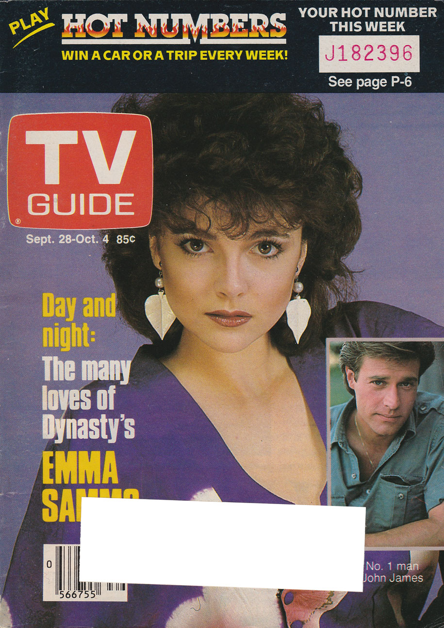TV Guide September 28 1985 Edmonton-Northern Alberta Edition Front Cover