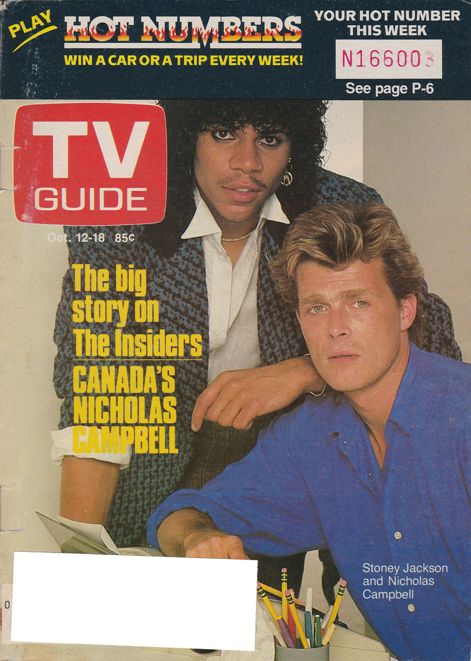 TV Guide October 12 1985 Edmonton-Northern Alberta Edition Front Cover