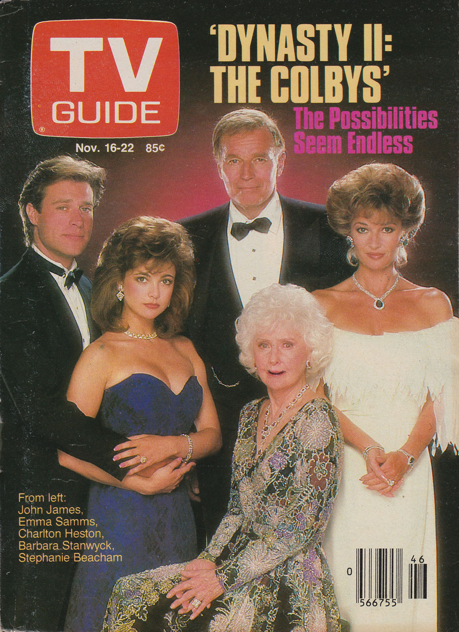 TV Guide November 16 1985 Western British Columbia Edition Front Cover