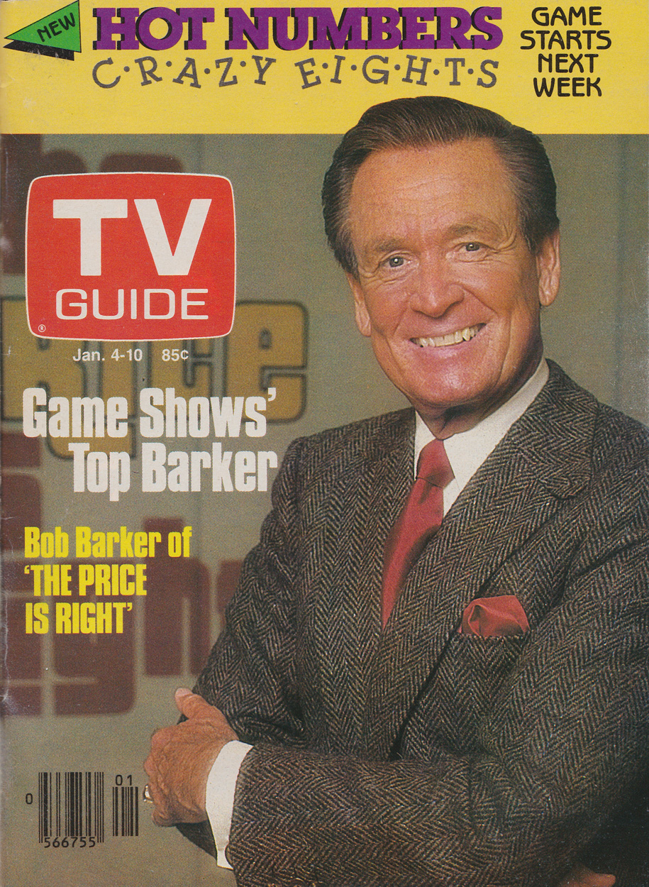 TV Guide January 4 1986 Manitoba Edition Front Cover