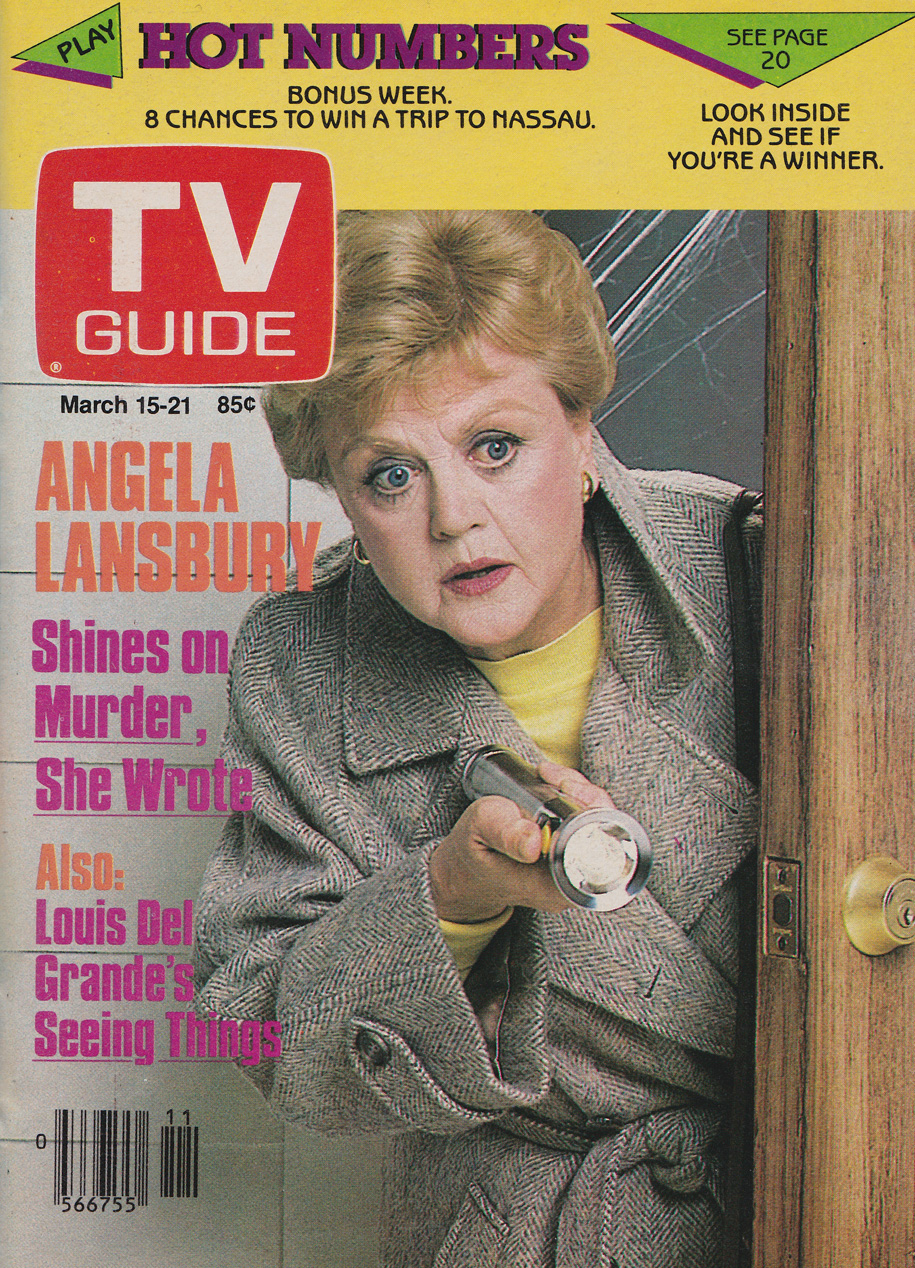 TV Guide March 15 1986 Hamilton & Region Edition Front Cover