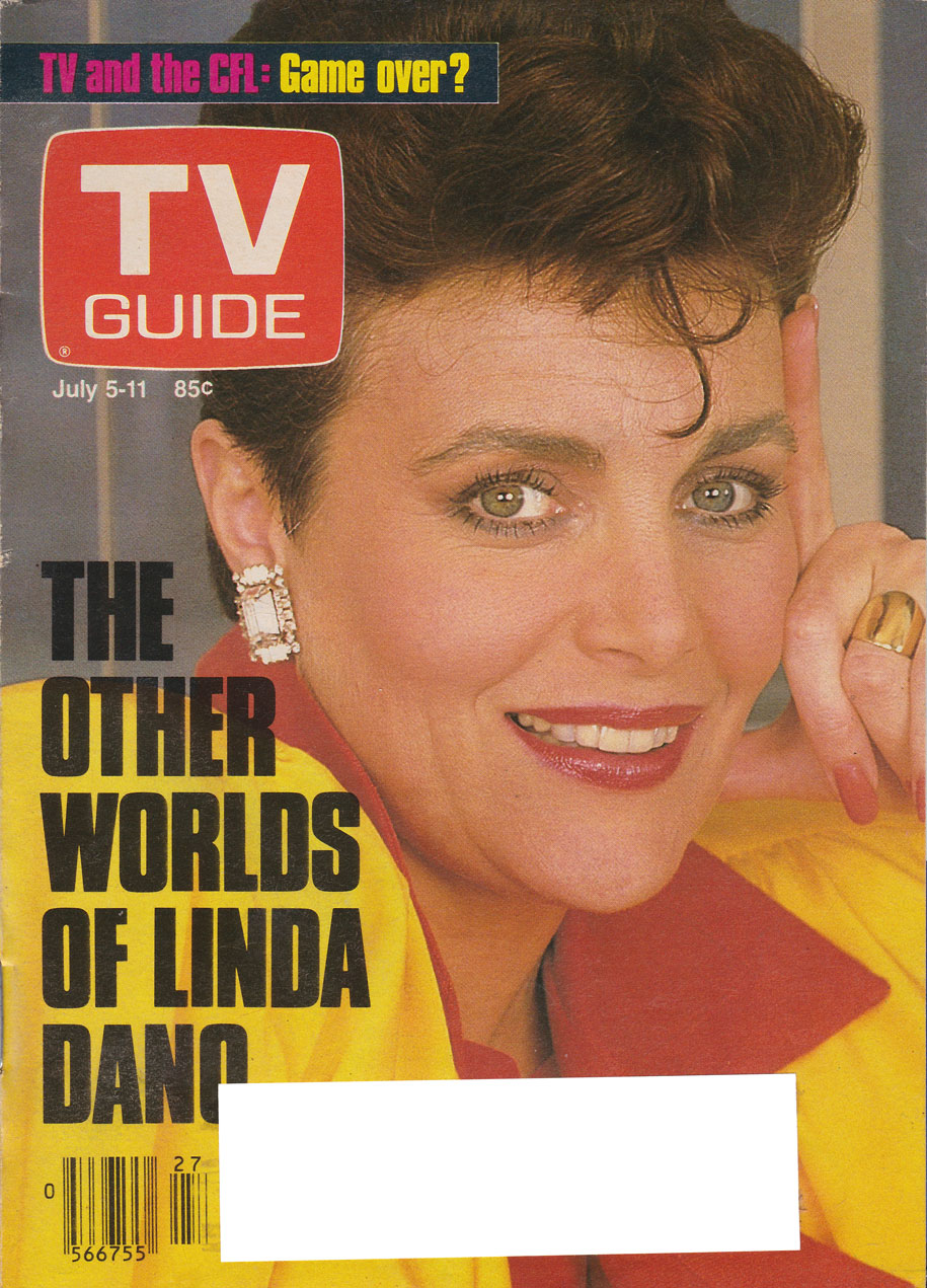 TV Guide July 5 1986 Hamilton & Region Edition Front Cover