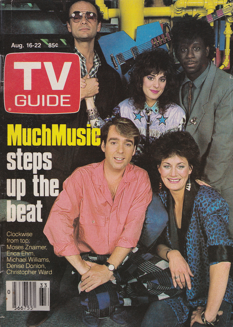 TV Guide August 16 1986 Western British Columbia Edition Front Cover