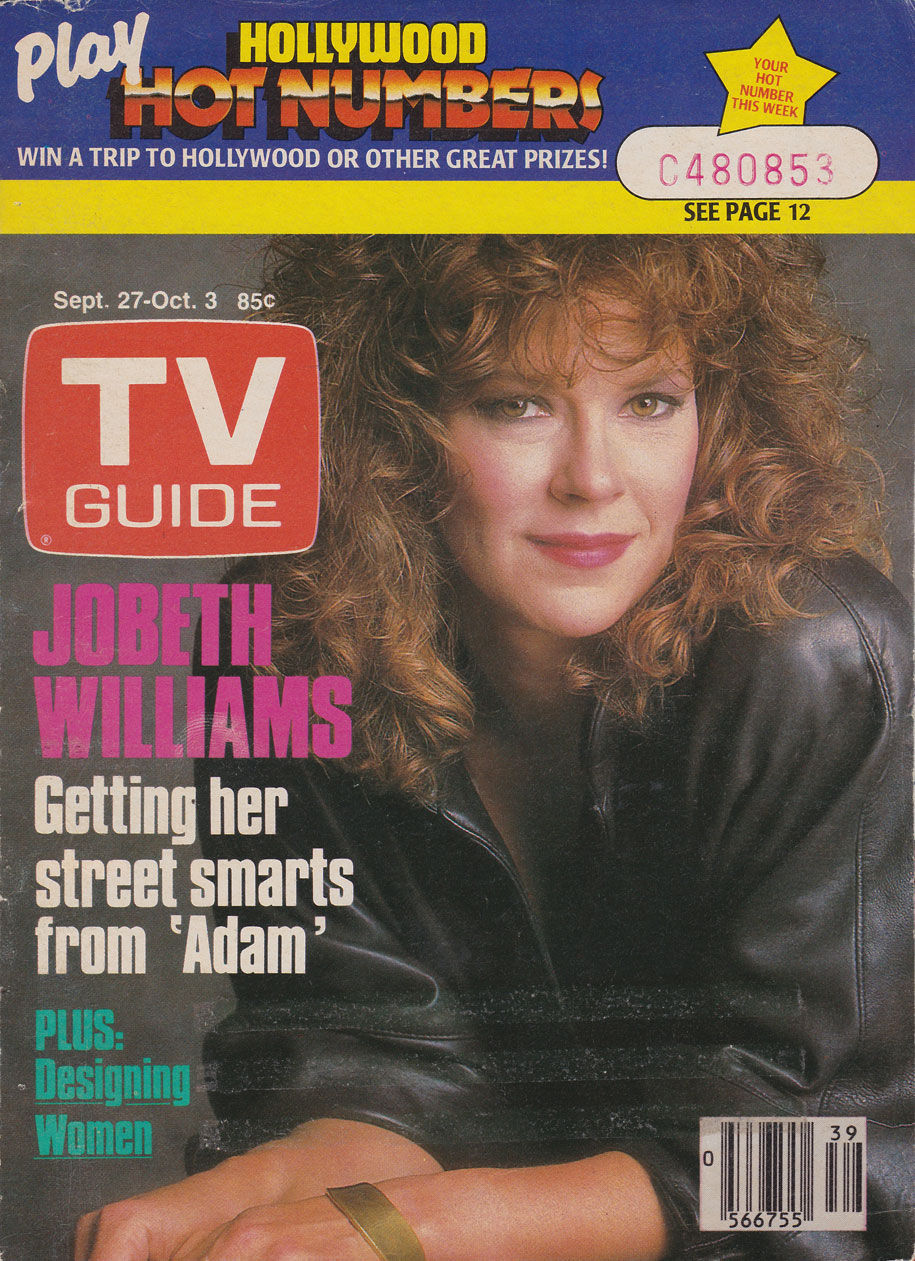 TV Guide September 27 1986 Toronto Edition Front Cover