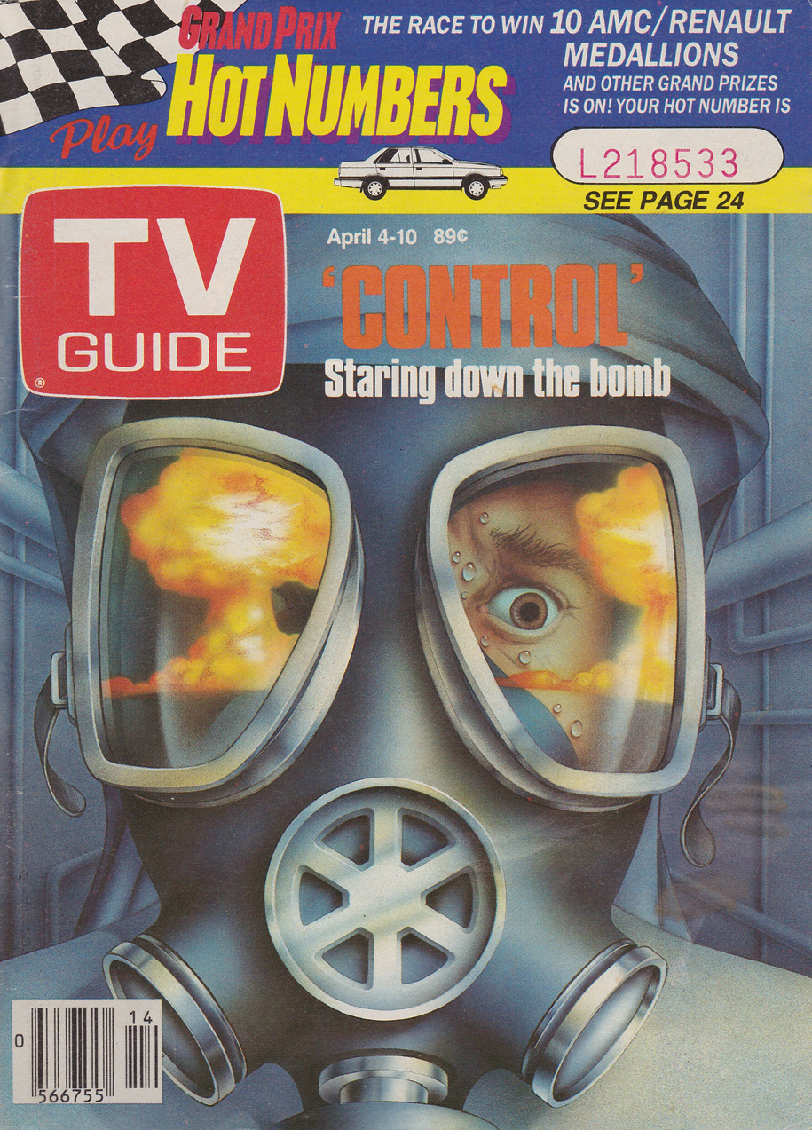 TV Guide April 4 1987 Western Ontario Edition Front Cover