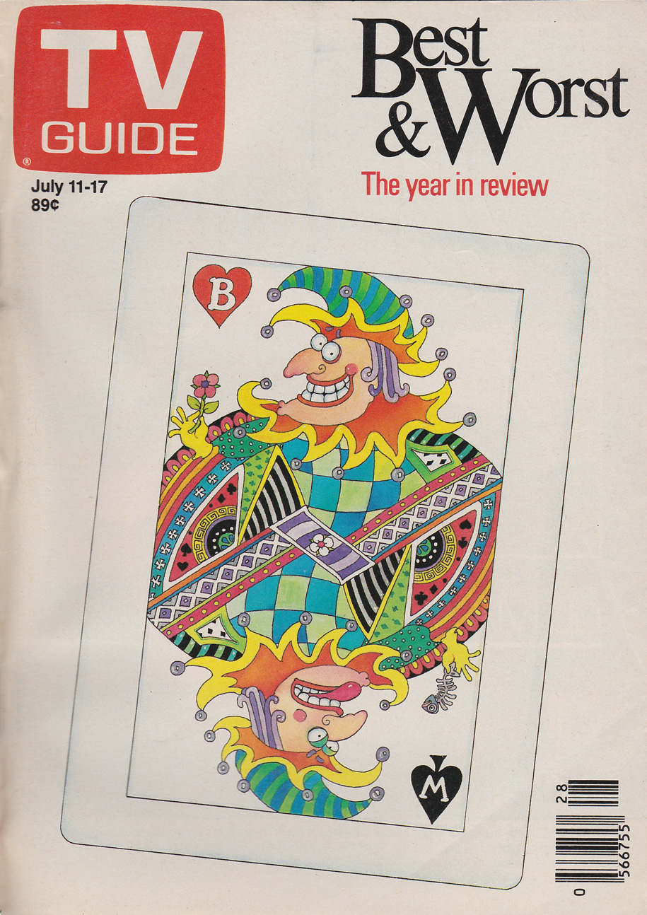 TV Guide July 11 1987 Western British Columbia Edition Front Cover