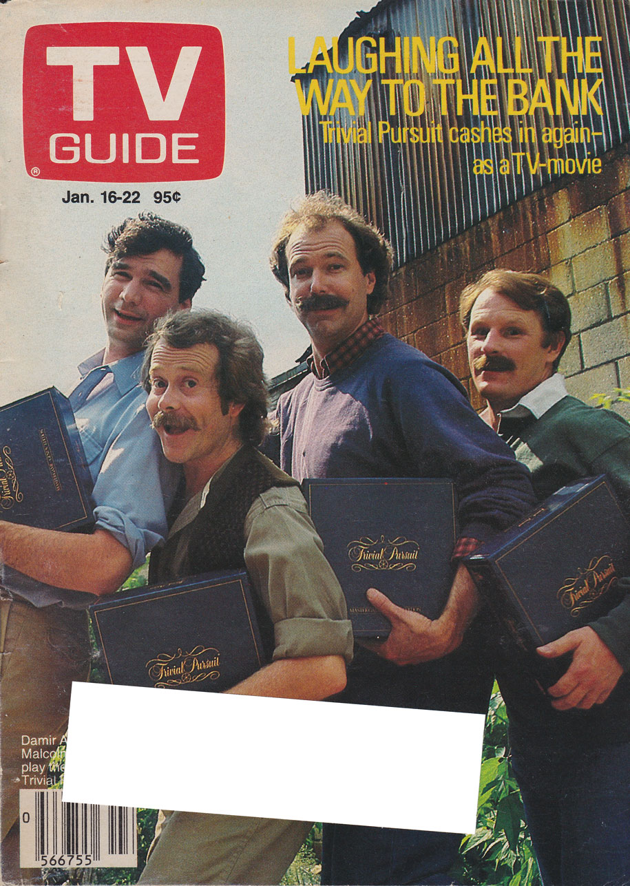 TV Guide January 16 1988 Alberta Edition Front Cover
