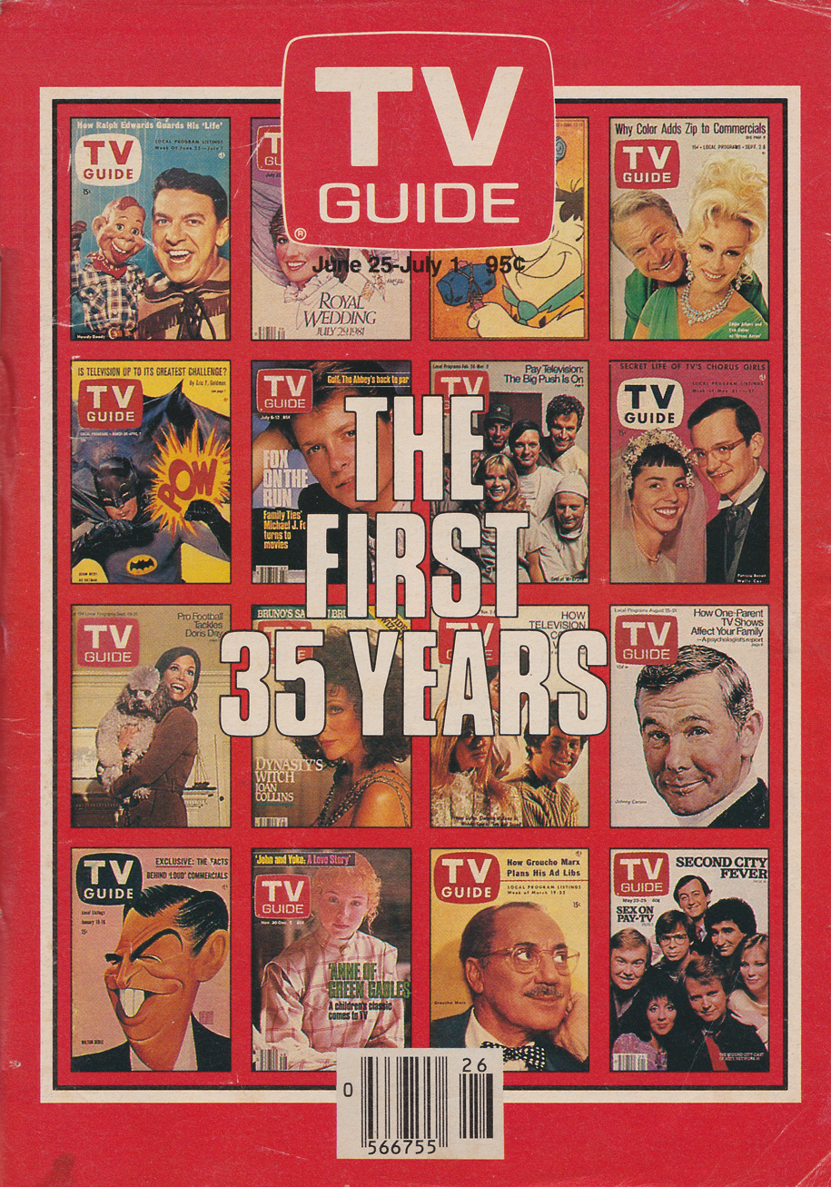 TV Guide June 25 1988 Montreal Edition Front Cover