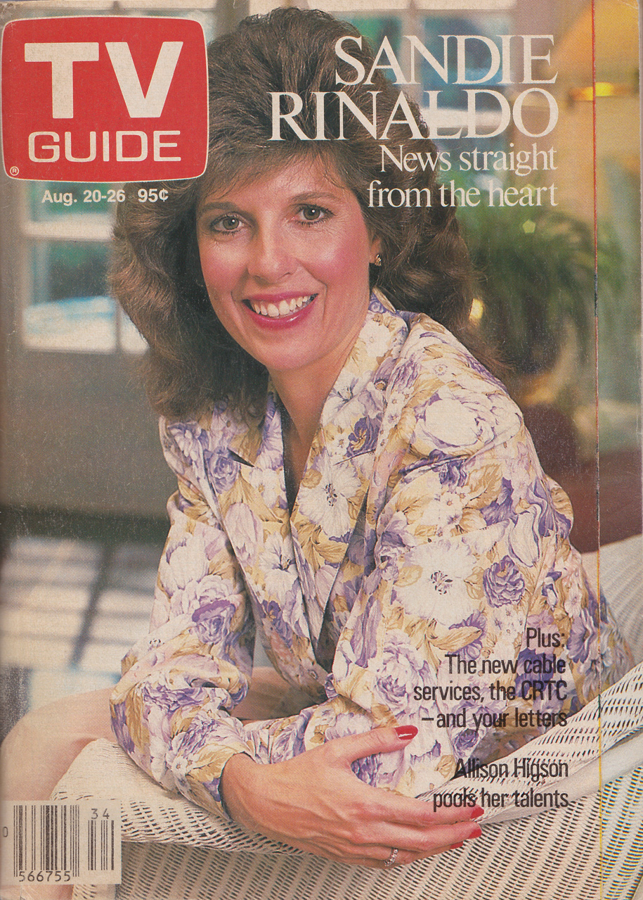 TV Guide August 20 1988 Toronto Edition Front Cover