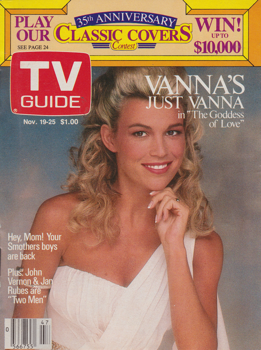 TV Guide November 19 1988 Alberta Edition Front Cover