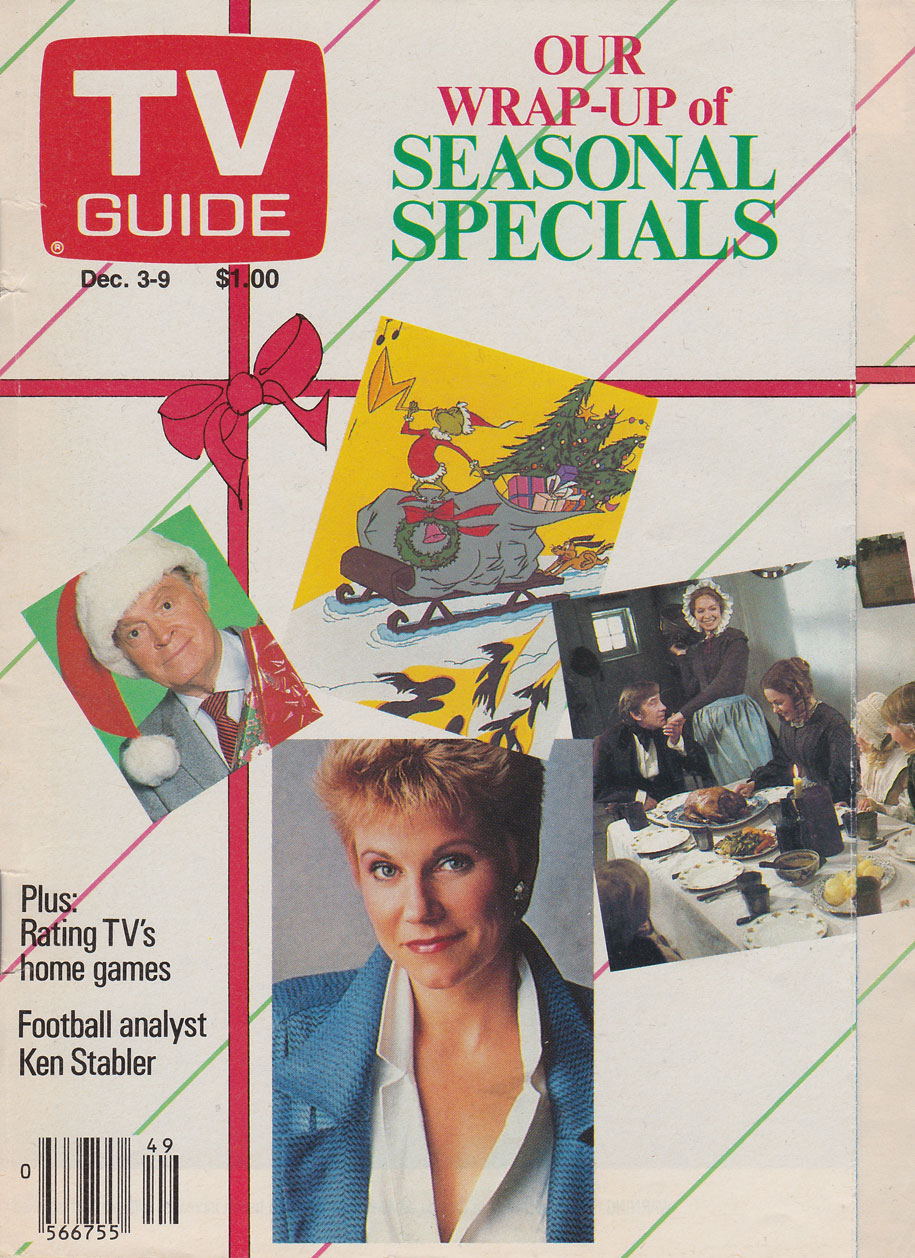 TV Guide December 3 1988 Calgary Edition Front Cover