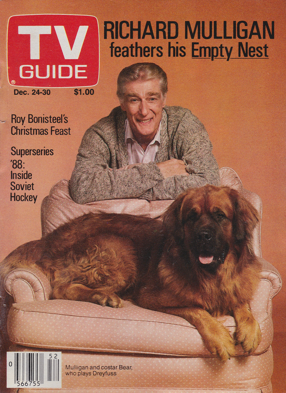TV Guide December 24 1988 Toronto Edition Front Cover