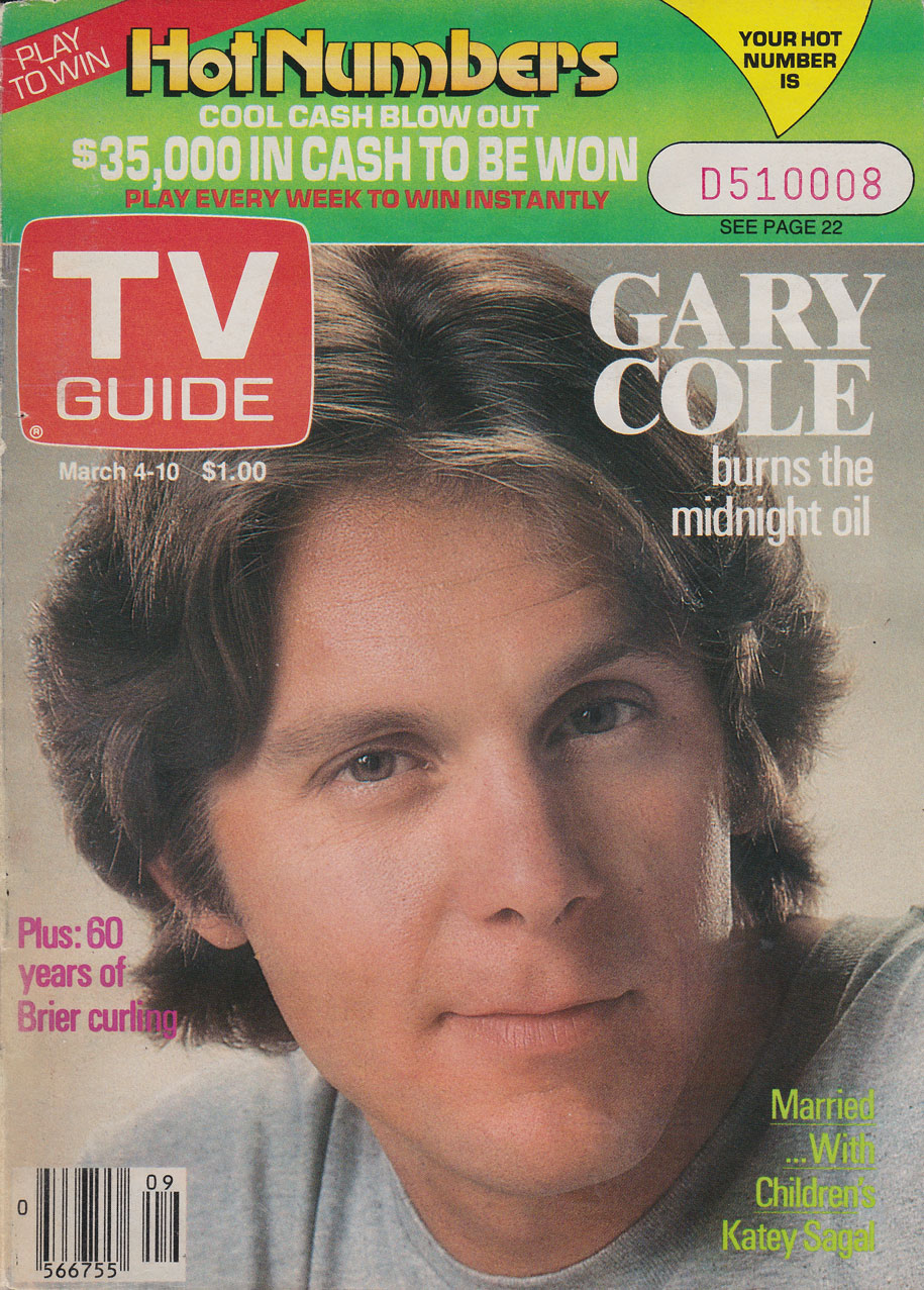 TV Guide March 4 1989 Toronto Edition Front Cover
