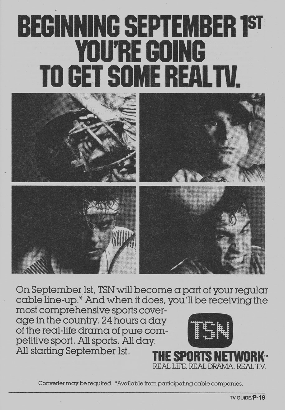 TV Guide August 26 1989 Western British Columbia Edition TSN Moves to Basic Cable